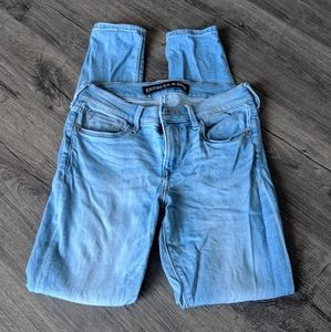 Express light wash jeans